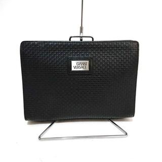 ジャンニヴェルサーチ(Gianni Versace)のジャンニヴェルサーチ セカンドバッグ 黒(セカンドバッグ/クラッチバッグ)