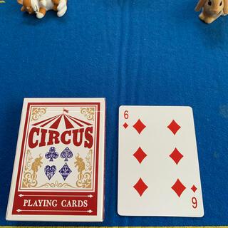 サーカス(circus)のCIRCUS One Way Deck ♦️6(ワンウェイデック)53枚(トランプ/UNO)