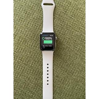 Apple Watch - Apple Watchseries 3シルバーステンレス セルラー38mm