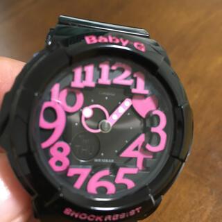 ベビージー(Baby-G)のcasio baby g-sock bag-130(腕時計)