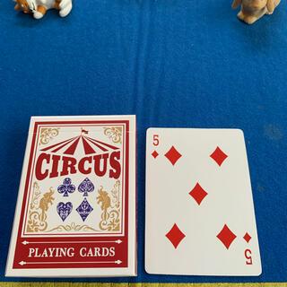 サーカス(circus)のCIRCUS One Way Deck ♦️5(ワンウェイデック)53枚(トランプ/UNO)