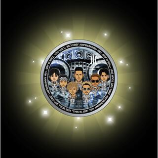 三代目 J Soul Brothers - 三代目 オンラインブース サークルステッカー