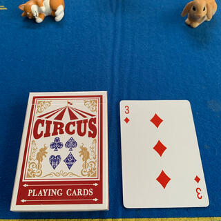 サーカス(circus)のCIRCUS One Way Deck ♦️3(ワンウェイデック)53枚(トランプ/UNO)