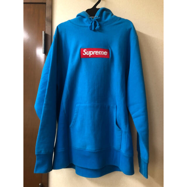 Supreme(シュプリーム)のsupreme 09aw Box Logo Hooded Teal M メンズのトップス(パーカー)の商品写真