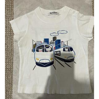 familiar - familiar おはなしTシャツ 80