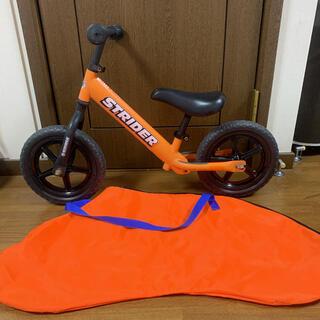 ストライダ(STRIDA)のストライダー 収納袋 持ち運び袋  ST-J4  オレンジ(自転車)