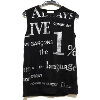 コムデギャルソン(COMME des GARCONS)のコムデギャルソン ノースリーブTシャツ -(Tシャツ(半袖/袖なし))