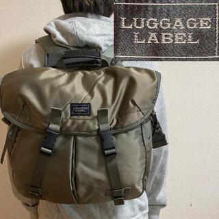 LUGGAGE LABEL - 希少!廃盤モデル!ラゲッジレーベル ゾーン 3WAYリュック ・ショルダーバッグ