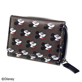 ミッキーマウス(ミッキーマウス)の【mini 2021年3月号付録】ミッキーマウスデザイン オトナの優秀ミニ財布E(財布)