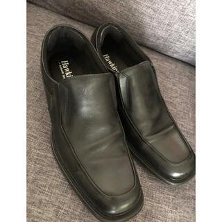 ホーキンス(HAWKINS)のホーキンス インソールが低反発の革靴 43サイズ 黒(ドレス/ビジネス)