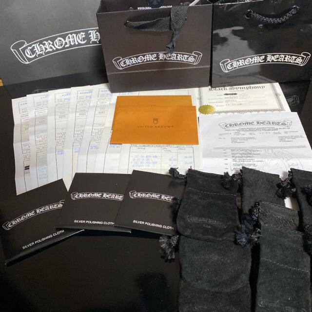 Chrome Hearts(クロムハーツ)のCHクロスペンダント スモール with ベイル メンズのアクセサリー(ネックレス)の商品写真
