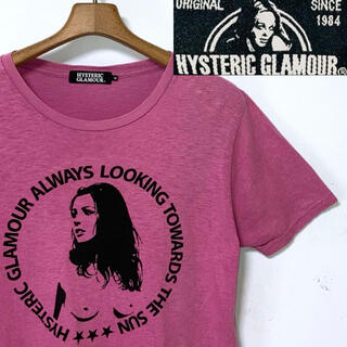 HYSTERIC GLAMOUR - 美品!日本製!ヒステリックグラマー セクシーガール&ロゴ 両面プリントTシャツ
