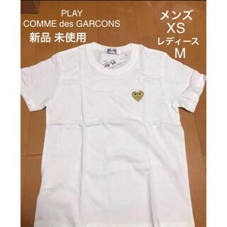 COMME des GARCONS - コムデギャルソン Tシャツ メンズ XS レディース M タグ付き
