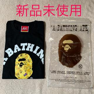 A BATHING APE - ア ベイシング エイプ スヌーピー APE × SNOOPY 限定 Tシャツ