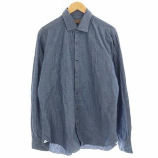 バルバ(BARBA)のバルバ DANDYLIFE ダンガリーシャツ シャンブレー 43/17 M 紺(シャツ)