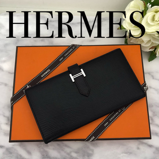 Hermes - HERMES べアンスフレ リザード❣️バイカラー‼️