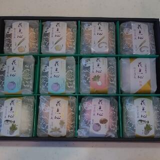 京洛 辻が花 京野菜のお吸い物最中と京お茶漬け詰め合わせ12食
