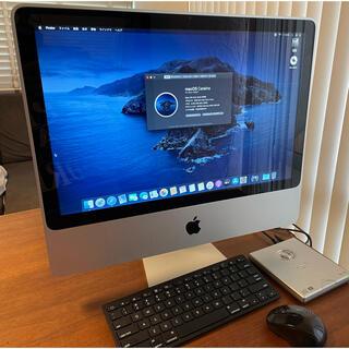 Apple - Apple iMac 20インチ  キーボード、マウス、DVDマルチドライブ付