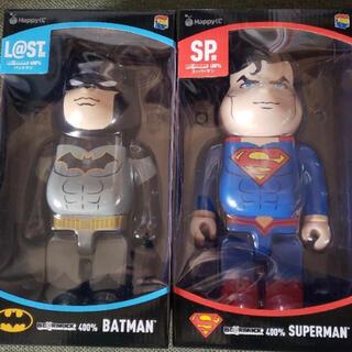 MEDICOM TOY - DC be@rbrick バットマン スーパーマン ベアブリック
