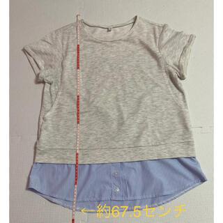 ニシマツヤ(西松屋)の重ね着風授乳服 Mサイズ(マタニティトップス)
