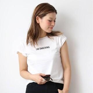 ドゥーズィエムクラス(DEUXIEME CLASSE)の【CALUX/キャラクス】I'M SNACKING Tシャツ(Tシャツ(半袖/袖なし))