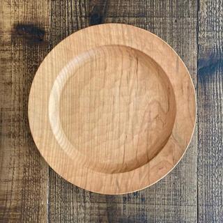 山口和宏 21cm   山桜 サラダ皿 パン皿 新品・未使用品