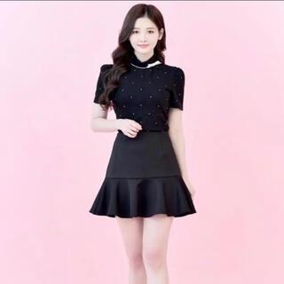 miumiu - JILTU flare mini skirt ジルチュ スカート フレアスカート