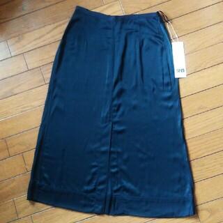 ユニクロ(UNIQLO)の新品 ユニクロ サテンミディスカート(ロングスカート)