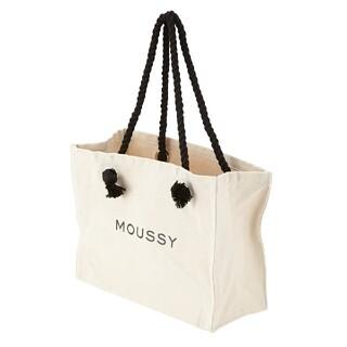 moussy - MOUSSY SOUVENIR トートバッグ キャンバス ショルダーバッグ 大き