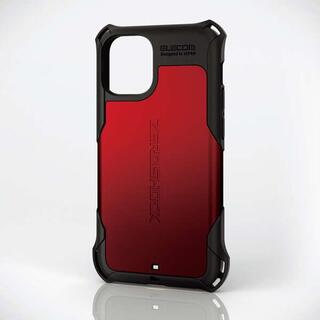 エレコム(ELECOM)のiPhone 12 mini用ZEROSHOCKハイブリッドケース(iPhoneケース)