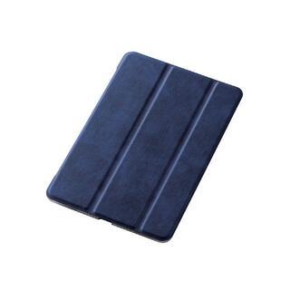 エレコム(ELECOM)のiPad mini 4, 5用極み設計 フラップカバー ネイビー(タブレット)