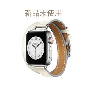 Hermes - 新品 エルメス アップルウォッチ アトラージュ 40mm  白