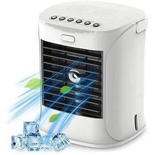 【Humidifier】卓上クーラー 加湿器 扇風機 冷風扇 冷風機 卓上冷風機