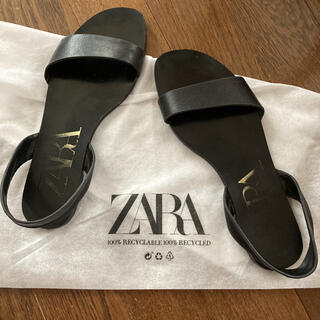 ZARA - ZARA サンダル ザラ シンプル 36