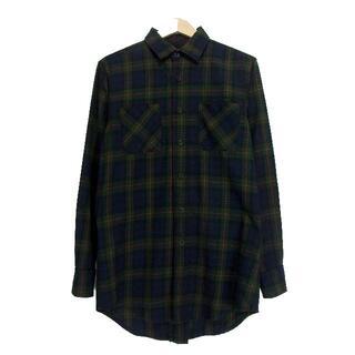 フィアオブゴッド(FEAR OF GOD)のフィアオブゴッド■Third collectionバックジップチェックシャツ(シャツ)