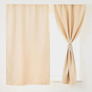 1級遮光カーテン 2枚組 セット 100cm*120cm(カーテン)