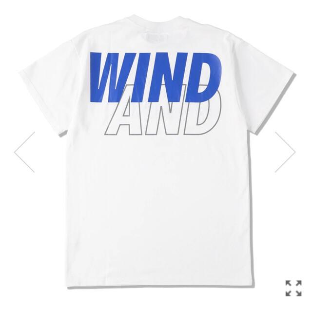 SEA(シー)の【新品L】WIND AND SEA Tシャツ ホワイト デカロゴT メンズのトップス(Tシャツ/カットソー(半袖/袖なし))の商品写真