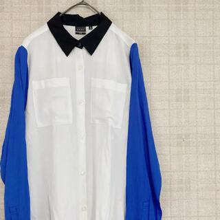 G.V.G.V. - GVGV ユニクロ コラボ レーヨンバイカラーシャツ