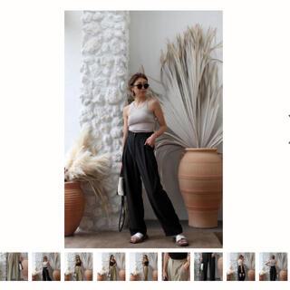 ルームサンマルロクコンテンポラリー(room306 CONTEMPORARY)のDesign Tuck Tapered Pants room306 パンツ(カジュアルパンツ)