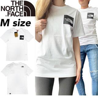 THE NORTH FACE - ノースフェイス Tシャツ 半袖 ファイン ホワイト Mサイズ NF00CEQ5