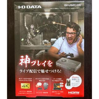 IODATA - 【ほぼ新品】 I-O DATA HDMI GV-US2C/HD