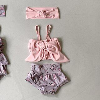 プティマイン(petit main)の韓国服 ベビー水着 90size(水着)