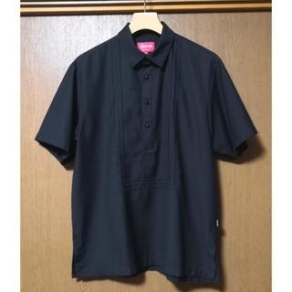 Supreme - 16SS Supreme Indo Shirt 黒 刺繍 プルオーバー シャツ