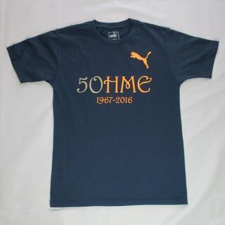 PUMA - 【美品】メンズ★【puma/プーマ】50周年記念ロゴプリントスポーツTシャツ