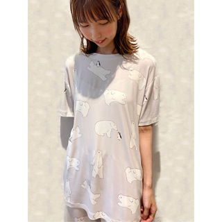 gelato pique - 【COOL FAIR】 HOMME シロクマモチーフTシャツ