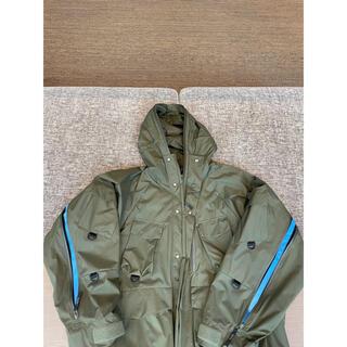 アンユーズド(UNUSED)のrotol ミリタリージャケット サイズ2 オリーブ(ミリタリージャケット)