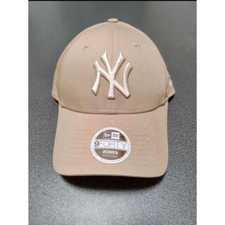 NEW ERA - 【海外限定】日本未発売 ニューエラ 帽子 キャップ NY ヤンキース ベージュ