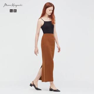 ユニクロ(UNIQLO)のUNIQLO ユニクロ mame kurogouchi 新品未使用(ロングスカート)