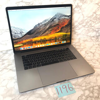 Mac (Apple) - 上位GPU MacBook pro 15インチ 2017
