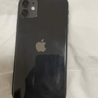 iPhone - SIMロック解除済 極美品 iPhone11 128GB ブラック 送料無料